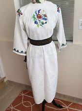 vintage ukrainian dress sorochka vyshyvanka