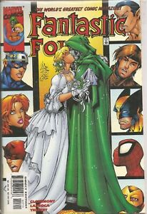 °FANTASTIC FOUR #27 SAY WHAT? DOOM AND SUSAN STORM TO MARRY?° US Marvel 2000