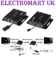 Hdmi a través de un único cable CAT5E 6 7 Kit Extensor infrarrojo cambiar de canal 60M