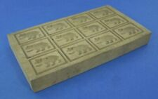 Vintage Carved Wood Chocolate Mould