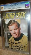 STAR TREK: YEAR 4 CGC 10.0 GEM MINT PHOTO COVER WILLIAM SHATNER SIGNED ONLY ONE!