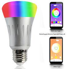 E27 7W WiFi  Wireless Remote Control Smart Bulb Lamp Light For Echo Alex Amazon