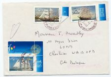 France BELEM and others cover  stamp ship