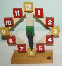 SISO Lernuhr Kinderspielzeug Holz Waldorf Schule Kaufladen Kinderküche