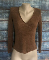 Eileen Fisher Womens Top Nude Pink Size PP Petite Knit
