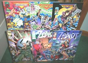 Image Comics ZEALOT #1 2 3 & THE OTHERS #1 2 3 Full Sets GGA Killer Bad Girls NM