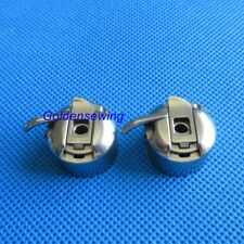 2 PCS Bobbin Case #125291 For Singer 15-88, 15K88, 15-90, 15-91 Sewing Machine