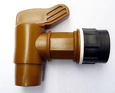 "IBC ADAPTER TO  JUMBO POLYETHYLENE DRUM TAP. 2"" High Flow Solvents Diesel Water"