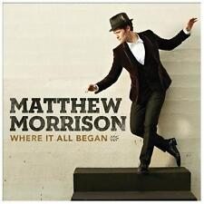 Where It All Began 2013 by Matthew Morrison . EXLIBRARY *NO CASE DISC ONLY*