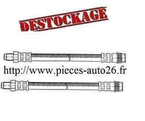 2 flexible de frein avant Audi 100  Diesel et Essence