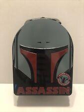 Star Wars Assassin Boba Fett Tin Box/Pail  (2010) GC