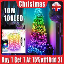Christmas Tree Decoration Lights Custom LED String Lights App Remote Control HK!