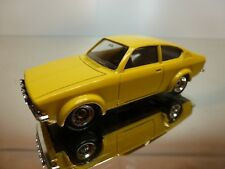 VEREM 70 OPEL KADETT COUPE GTE - YELLOW 1:43 - EXCELLENT CONDITION - 3+23
