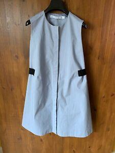 & OTHER STORIES SUMMER A-LINE SHIFT DRESS Blue Cotton UK 10 / 36 - VGC