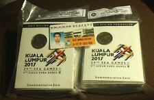 KL 2017 29th SEA Games Coin Card  Original BNM 10 Pc per pack