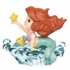 Disney Precious Moments 143018 Ariel In Wave Figurine New & Boxed