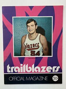 1970-71 World Champion Milwaukee Bucks @ Portland Trailblazer Official Program