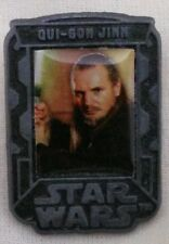 "Star Wars Pin Badge 2005 Qui-Gon Dinn approximately 1.5"" Tall x 1"" Wide"