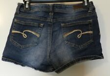 Justice Jeans Girls Denim Simply Low Shorts Size 16 Regular