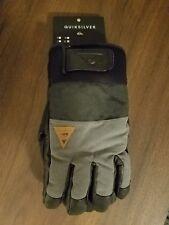 New Men's Quiksilver Squad Snowboard Ski Gloves XL