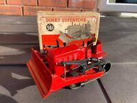 Dinky 561 Blaw Knox Bulldozer In Its Original Box - Near Mint Vintage Meccano