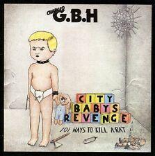 G.B.H. City Babys Revenge CD+Bonus Tracks NEW SEALED Punk Give Me Fire/Catch 23+