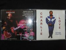 CD CHARLIE LOVE / SO HAPPY I COULD CRY /