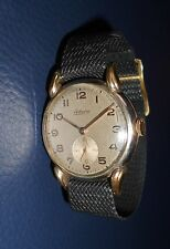 "Alte Herren ⌚ ADORO kl Sekunde ""Fuchsohren"" 50er Vintage Handaufzug Art Deco Uhr"