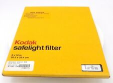 New Kodak #10 Filter 8 X 10  # 1521673 Safelight Filter (New Old Stock)