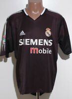 REAL MADRID SPAIN 2004/2005 AWAY FOOTBALL SHIRT JERSEY ADIDAS SIZE L ADULT