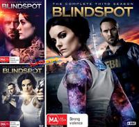 The Blindspot Seasons 1, 2 & 3 : NEW DVD