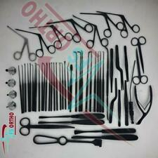 Tympanoplasty Instruments Set, Micro Ear Surgery ENT Instruments Black Coated