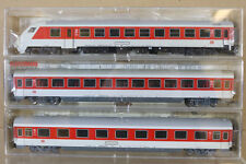 FLEISCHMANN 5100 5101 5103 K RAKE x3 DB IC INTERCITY CONTROL 2nd 1st COACH ng