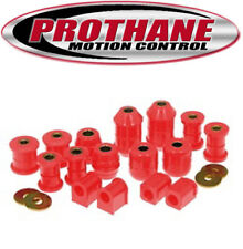 Prothane 18-2009 Total Suspension Bushings Kit 1991-95 Toyota MR2 MR-2 Red Poly