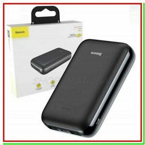 power bank BASEUS 10000mAh carica batteria esterna portatile powerbank