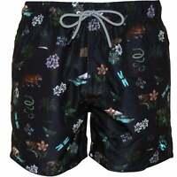 Ted Baker Safari Print Men's Swim Shorts,Navy