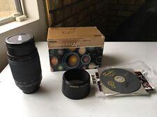 Nikon NIKKOR 70-300mm f/4-5.6 G AF Lens for Nikon Digital SLR Cameras MINT