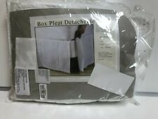 The Company Store Box Pleat Detachable Bed Skirt - King
