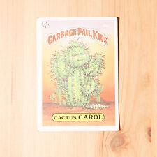 Vintage Garbage Pail Kids 1986 UK Sticker Collector's Card Cactus Carol 60b