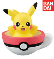 Bandai Pokemon Figure Sun & Moon Tea Cup Time 2 Gashapon Pikachu