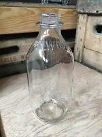 Vintage Quart Milk Bottle Dellwood Dairy Yonkers New York