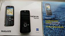 Nokia N78 - Black (Unlocked) Smartphone