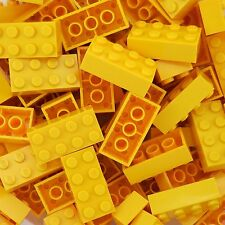 50 New Lego 3001 2x4 Yellow Bricks Star Wars, Mine Craft, Friends, City, Disney