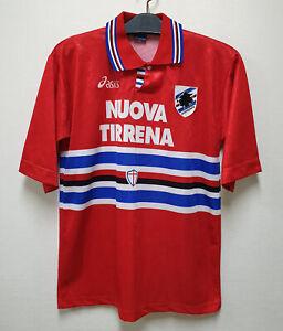 1995-96 U.C.SAMPDORIA 3rd S/S No.10 MANCHINI Serie A