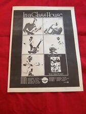 GENTLE GIANT ORIGINAL 1973 VINTAGE MUSIC PRESS ADVERT IN A GLASS HOUSE ALBUM