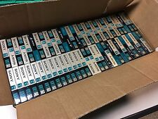 120 pcs Sony Audio Tape Cassette UX-S 60 Min NOS New Sealed (EUR Version 1990)
