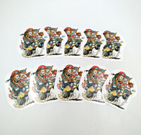 Rat Fink Pinup Big Daddy Ed Roth Built 4 Speed Vinyl Decal 10pcs Stickers