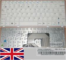 Clavier Qwerty UK ASUS EEEPC EEE PC 900HA 900 HA V100462AK1 04GOA09KUK10-1 Blanc