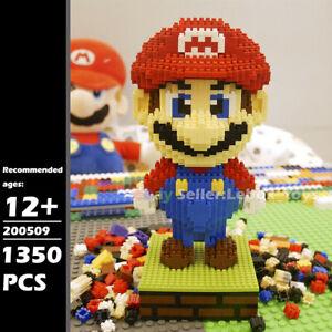 Building Nano Blocks Super Mario Brothers Micro Bricks Kids Adult Toys 1350PCS