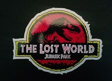 1 new JURASSIC PARK the Lost World Sticker Logo Jeep Safari Dinosaur Decal